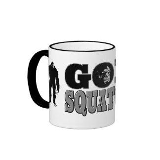 Goin Squatchin Ringer Mug