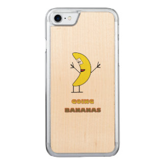 Going bananas carved iPhone 7 case
