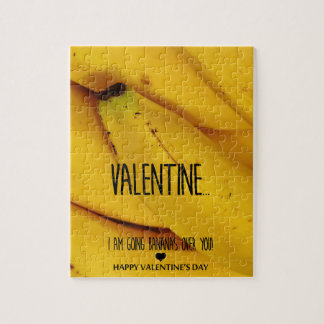 Going bananas over you Valentine's Day Jigsaw Puzzle