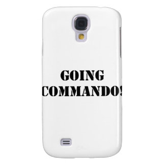 Going Commando Galaxy S4 Case