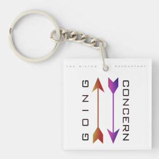 """Going Concern"" Key Ring"