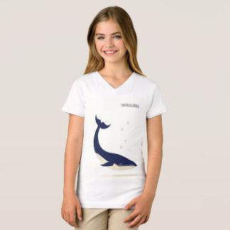 Going Deep Girl's V-Neck T-Shirt