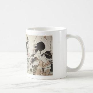 Going Down to the East, Utamaro, 1795 Mug