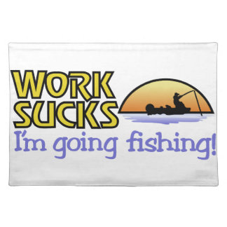 Going Fishing Place Mat