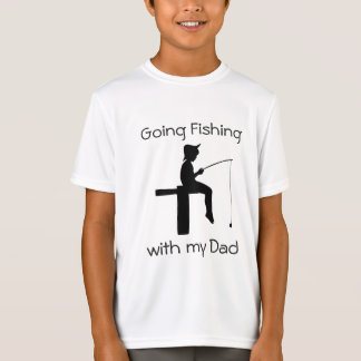 Going Fishing with Dad Boys  Shirt