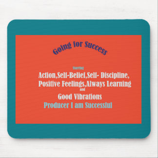 Going for Success Mouse Pad
