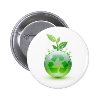 Going Green 6 Cm Round Badge