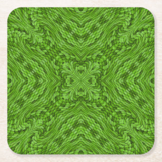 Going Green Colorful Coasters