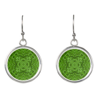 Going Green Colorful Drop Earrings