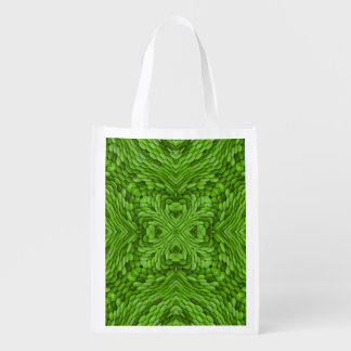 Going Green Colorful Reusable Bags Market Totes