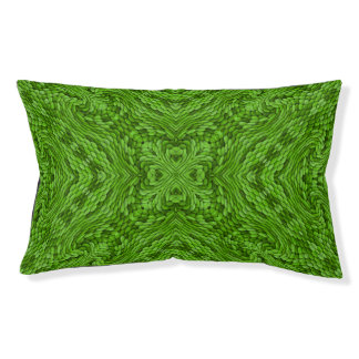 Going Green Colorful Vintage Kaleidoscope Dog Bed