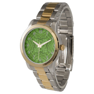 Going Green Colorful  Vintage Womens Watch