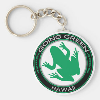 Going Green Hawaii Frog Key Ring