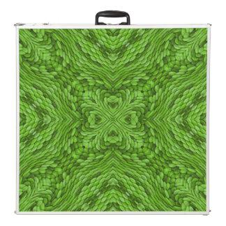 "Going Green Kaleidoscope 96""   Pong Table"