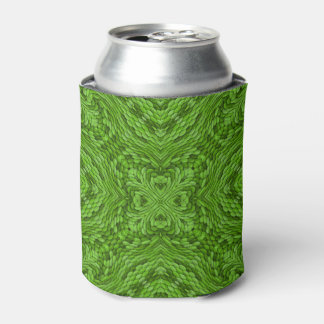 Going Green Kaleidoscope     Colorful Can Cooler