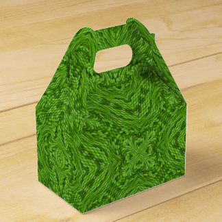 Going Green Kaleidoscope Gable Favor Box
