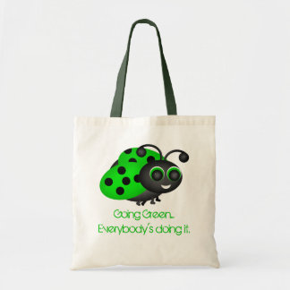 Going Green Ladybug Bag