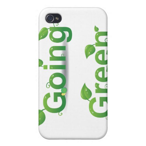 """""""Going Green"""" Leaves iPhone Case Cover For iPhone 4"""
