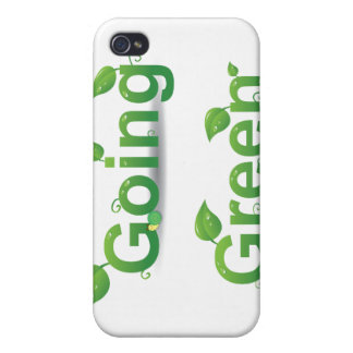 Going Green Leaves iPhone Case Cover For iPhone 4