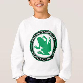 Going Green North Carolina Frog Sweatshirt
