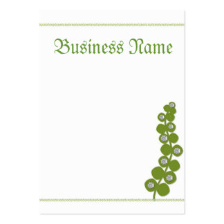 Going Green Pack Of Chubby Business Cards