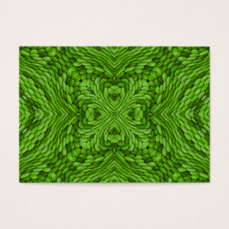 Going Green Pattern   Colorful Business Cards