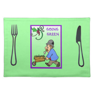 Going Green Placemat