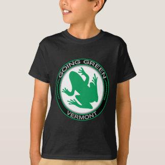 Going Green Vermont Frog T-Shirt