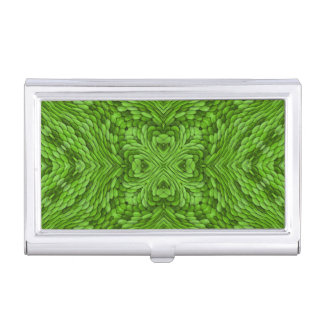 Going Green Vintage Business Card Case