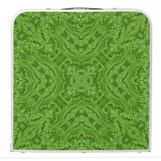"Going Green Vintage Kaleidoscope 48""    Pong Table"