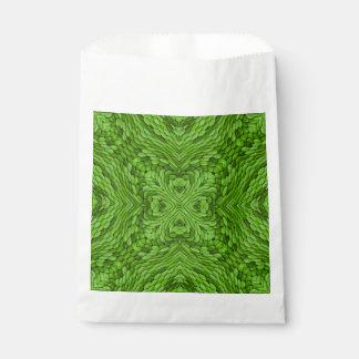 Going Green Vintage Kaleidoscope Favor Bags