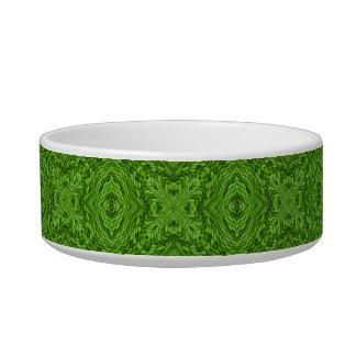 Going Green Vintage  Kaleidoscope Pet Dish