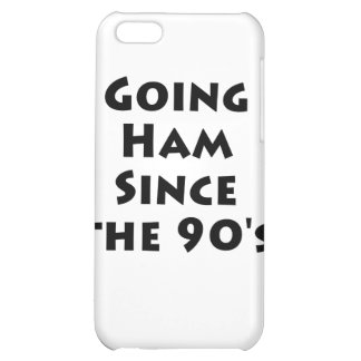Going Ham Since The 90 s iPhone 5C Covers