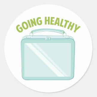 Going Healthy Sticker