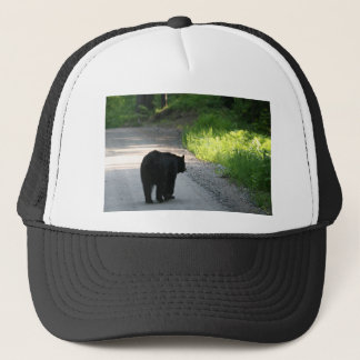 going into the light trucker hat