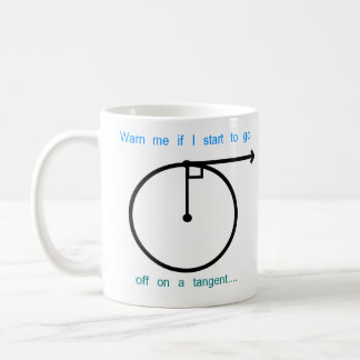 Going of on a Tangent Coffee Mug