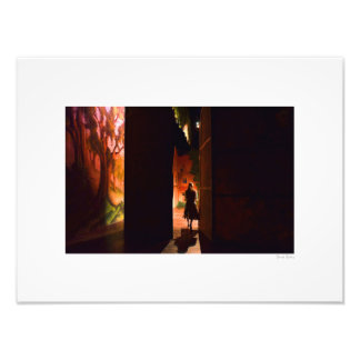 """Going on Stage 16""""x12"""" Art Photo"""