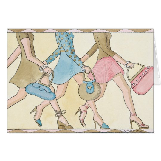 Going Shopping - Note Card