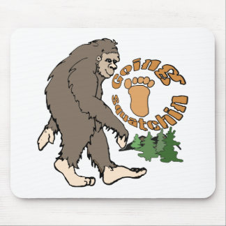 Going Squatchin Mouse Pad