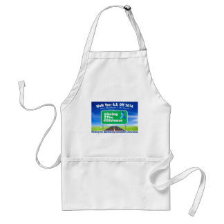 Going The Distance Standard Apron