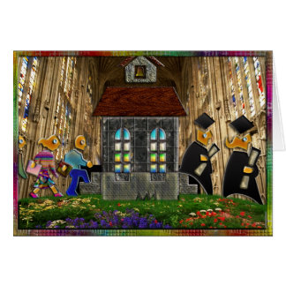 Going to and Graduating from School II Greeting Ca Greeting Card