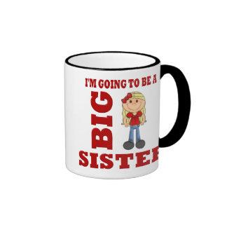 Going to be a Big Sister Ringer Mug