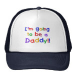 Going to be a Dad-Primary Colours Cap