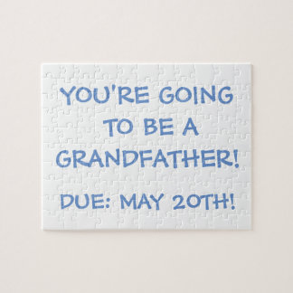 """Going to be a Grandfather!"" Puzzle"