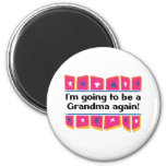 Going to be a Grandma Again! Refrigerator Magnets