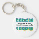 Going to be a Great Grandpa Again! Key Chains