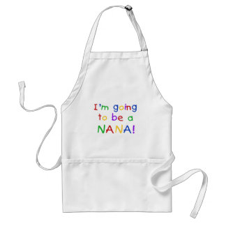 Going to be a Nana - Primary Colors Tshirts Standard Apron