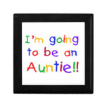Going To Be An Auntie Primary Colours Gifts Jewelry Box