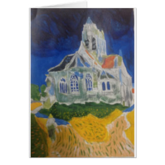 Going to Church Greeting Card