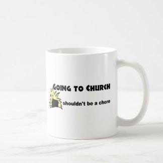 Going to church shouldn't be a chore Christian Mug